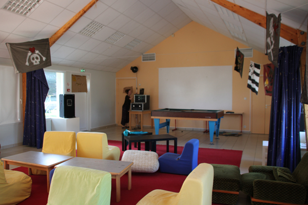 Centre de vacances de Pénestin, vacances, classes, colonie, bâtiments, intérieur