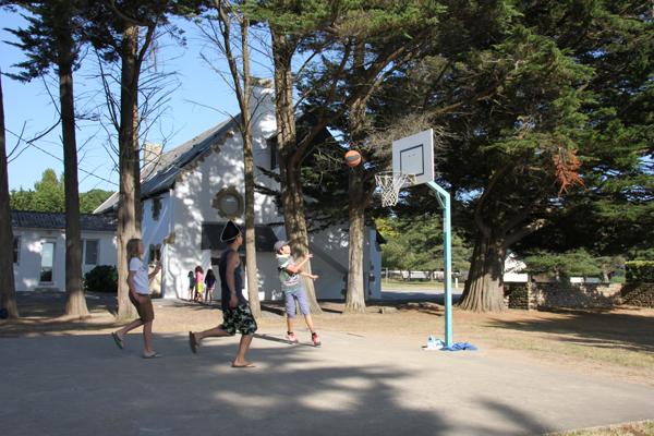 Centre de vacances de Pénestin, vacances, classes, colonie : jeux extérieur