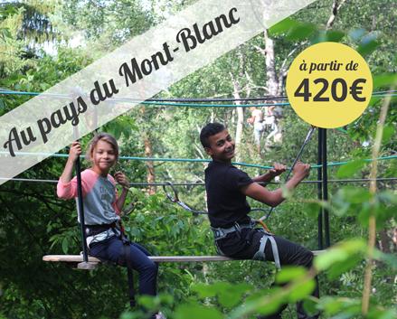 Colonie de vacances, centre été, Combloux, Mont-Blanc, oul 2018