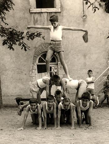 Oeuvre Universitaire du Loiret, colonies de vacances 1950