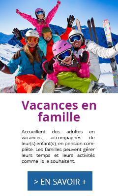 Vacances familles, hiver, Oeuvre Universitaire du Loiret, oul