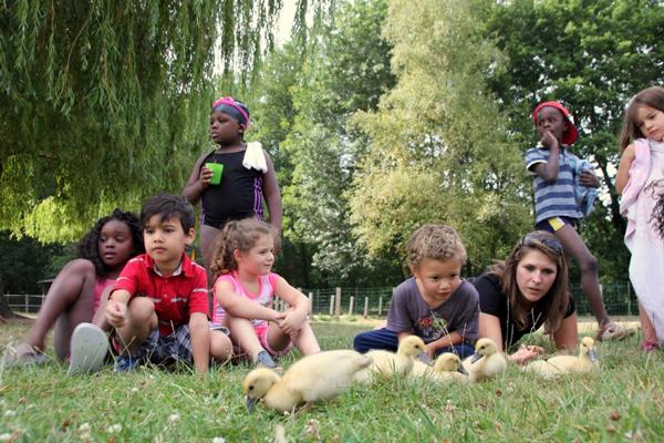 Colonie de vacances, séjours vacances, enfants, animaux de la ferme : Ingrannes dans le Loiret, été 2016