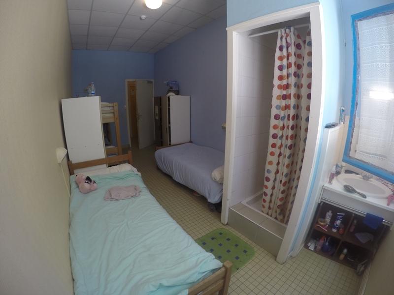 Centre de St Jean de Monts, vacances, classes, colonie, bâtiments intérieur, chambre 2017