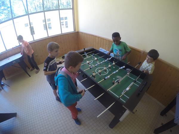 Centre de St Jean de Monts, vacances, classes, colonie, bâtiments intérieur, jeux2, 2017