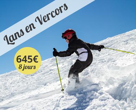 Colonie de vacances, centre, ski, hiver, Lans en Vercors : oul 2018
