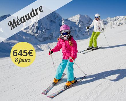 Colonie de vacances, centre, ski, hiver, Méaudre : oul 2018