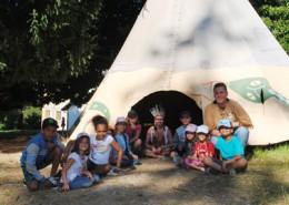 Colonie de vacances, séjours vacances, enfants, camp d'indiens à crocq : été 2016