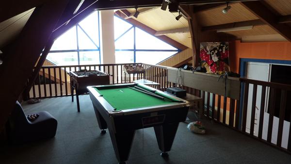 Centre de Damgan Kermor, vacances, classes, colonie : salle de détente, jeux