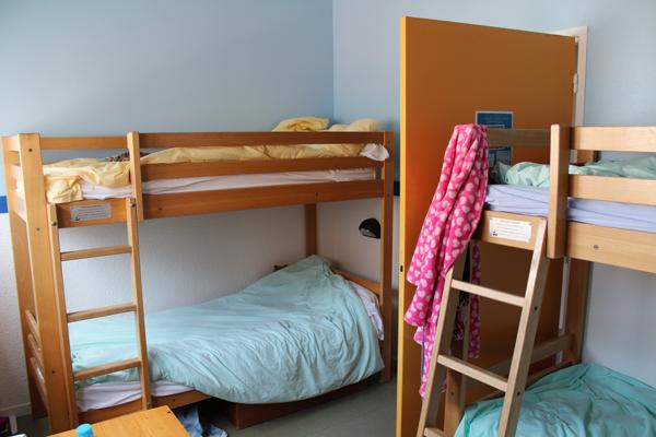 Centre de vacances, les Sables d'Olonne, vacances, classes, colonie : les chambres