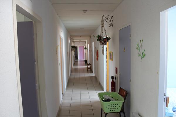 Centre de vacances, les Sables d'Olonne, vacances, classes, colonie : couloir