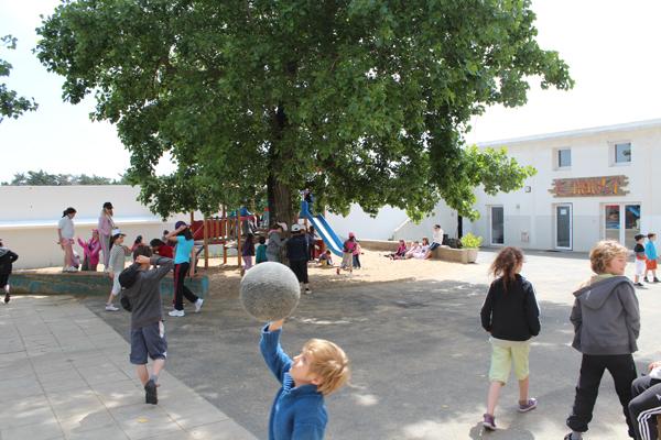 Centre de vacances, les Sables d'Olonne, vacances, classes, colonie : jeux extérieur