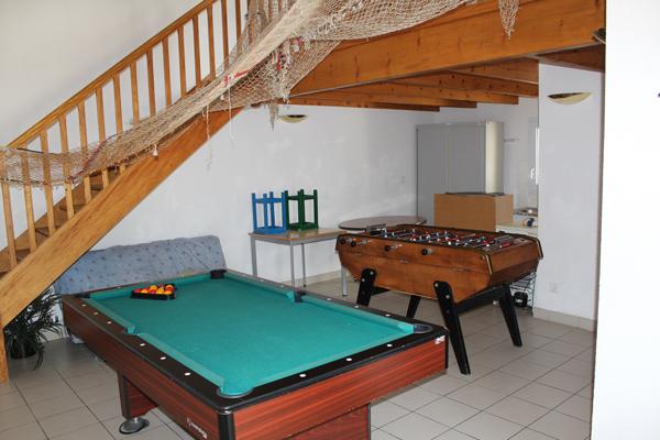 Centre de vacances, les Sables d'Olonne, vacances, classes, colonie : jeux intérieur