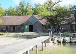 Colonie de vacances, séjours, classes de découvertes, Étang du Puits : bâtiment