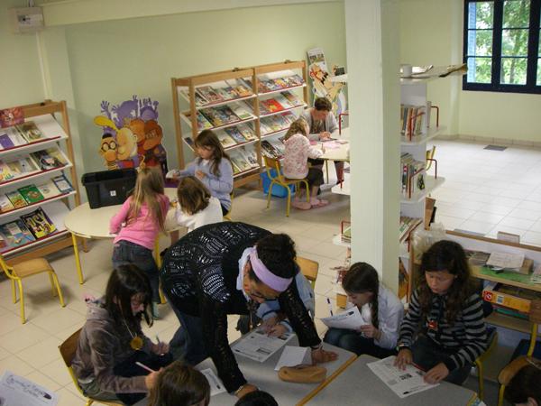 Colonie de vacances, séjours, classes de découvertes, famille, Crocq : bibliothèque