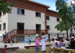 Colonie de vacances, séjours, classes de découvertes, famille à Lans en Vercors : bâtiment, hébergement en été