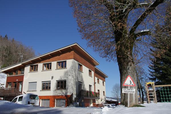 Colonie de vacances, séjours, classes de découvertes, famille, à Lans en Vercors, bâtiment : hébergement en hiver2