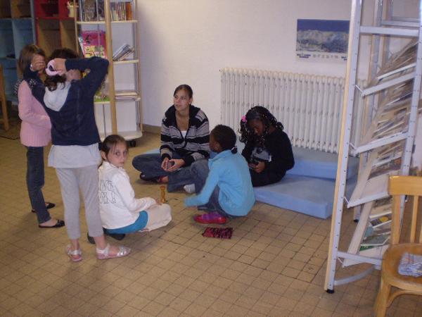 Colonie de vacances, séjours, classes de découvertes, vacances en famille, Sollières : la bibliothèque
