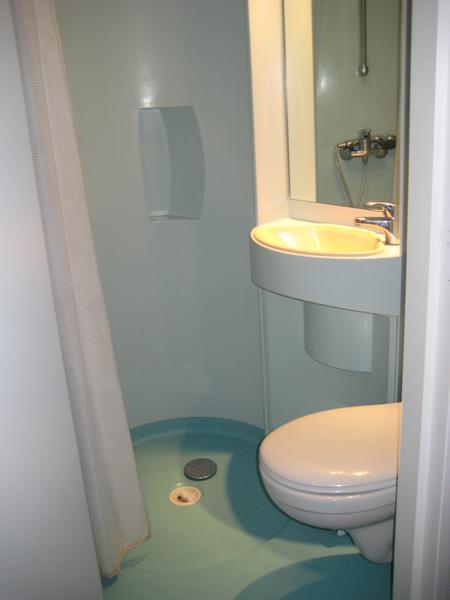 Colonie de vacances, séjours, classes de découvertes, vacances en famille, Sollières : salle de bain