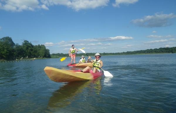 Colonie de vacances, séjours vacances, enfants, canoë 2 : été