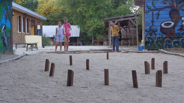 Colonie de vacances, séjours, vacances enfants, jeux Molkki : été 2015