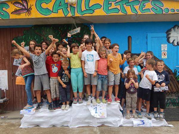 Colonie de vacances, séjours, vacances enfants, jeux podium : été 2015