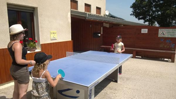 Colonie de vacances, séjours vacances, Lans en Vercors, enfants, ping-pong : été