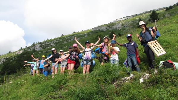 Colonie de vacances, séjours vacances, Lans en Vercors, enfants, randonnée : été