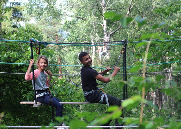 Colonie de vacances, séjours vacances, Sollières, parc aventure