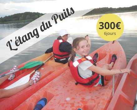 Colonie de vacances, centre, canöe, voile, printemps, Étang du Puits-oul2018