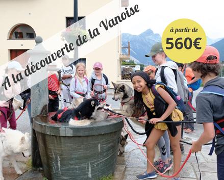 Sollières, été 2020, canirando, oul, Oeuvre Universitaire du Loiret, colonie de vacances, offre