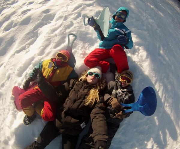 Centre, colonies, vacances, camps, neige, hiver, ski, Lans en Vercors, jeux luge