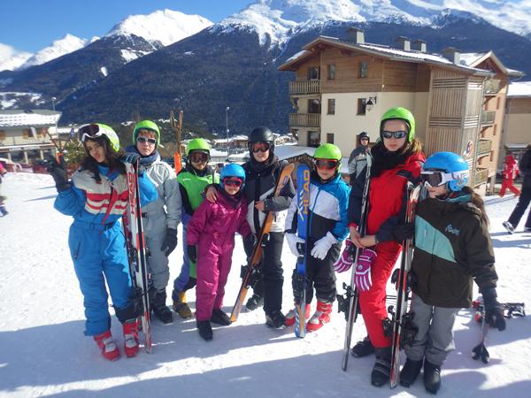 Centre, colonies, vacances, camps, neige, hiver, ski, Sollieres : activités 1