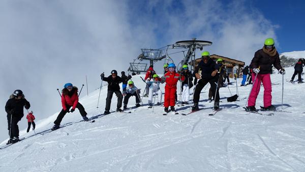 Centre, colonies, vacances, camps, neige, hiver, ski, Sollieres : activités 3