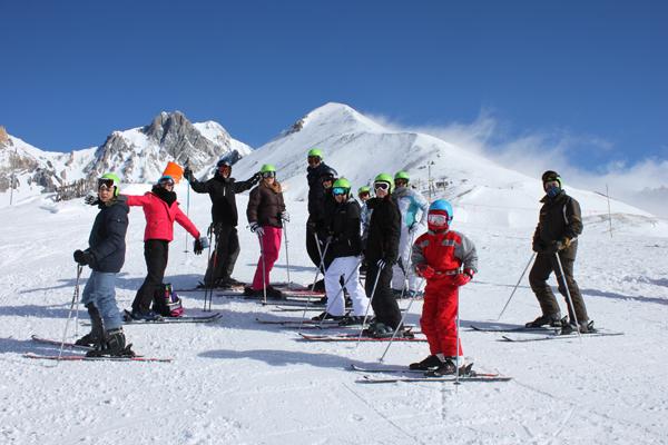 Centre, colonies, vacances, camps, neige, hiver, ski : Sollières 1