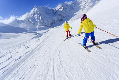 Séjour colonie ski 2019, oul Lans en Vercors