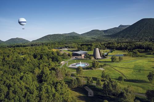 Classe de découverte centre de vacances, Oeuvre Universitaire du Loiret : les volcans, Vulcania