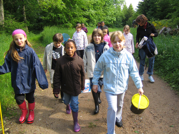 Classe de découvertes, centre vacances, classe de campagne, le milieu naturel