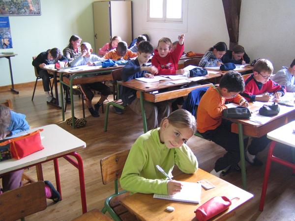 Classe de découvertes, centre vacances, classe de campagne, salle de classe