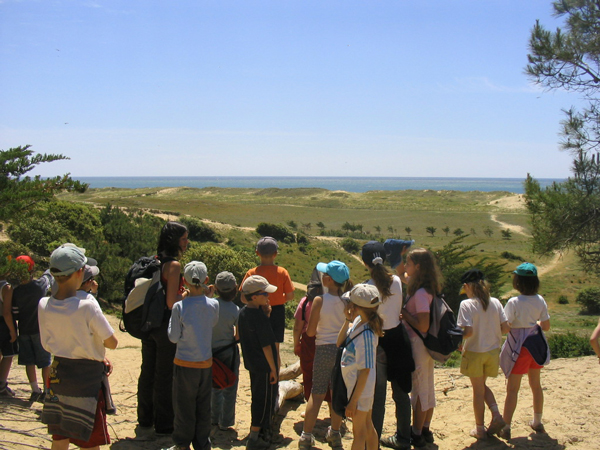 Classe de découvertes, centre vacances, classe de mer, saint Jean de Monts : paysage