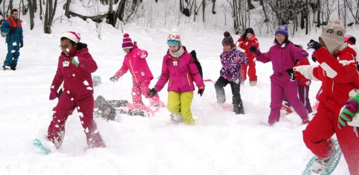Classe de découvertes, centre vacances, classe de neige, hiver, Méaudre : Oeuvre Universitaire du Loiret