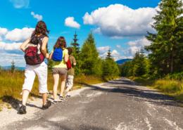 Classe de découvertes, classe de-montagne, centre de vacances, randonnees, Oeuvre Universitaire du Loiret