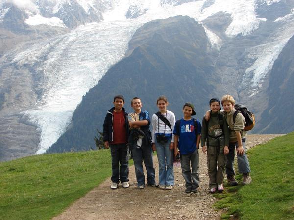 Classe de découvertes, classe de montagne, centre de vacances : randonnées