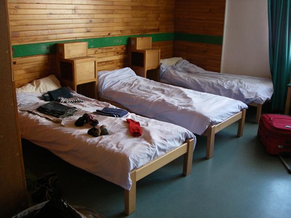 Colonie de vacances, séjours, classes de découvertes, Pelvoux, bâtiments chambre
