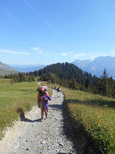 Colonie de vacances enfants, Combloux, randonnées 3, oul, été 2017