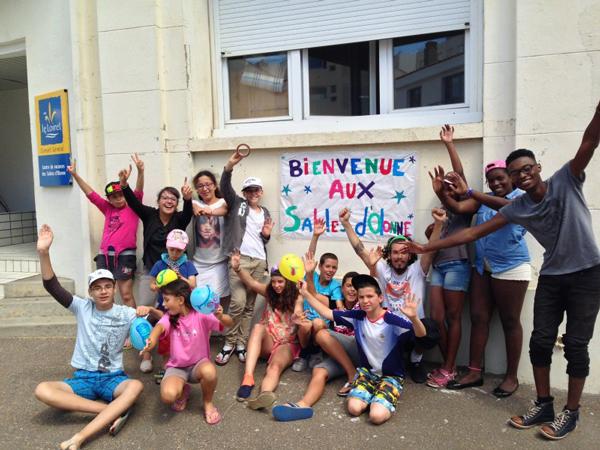Colonie de vacances, séjours vacances, enfants, oul, Les-Sables d'Olonne : été 2017