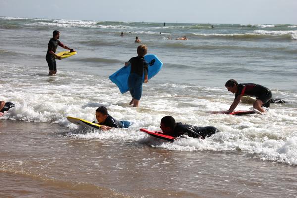 Colonie de vacances, séjours vacances, enfants, oul, les Sables d'Olonne, surf 3, été 2017