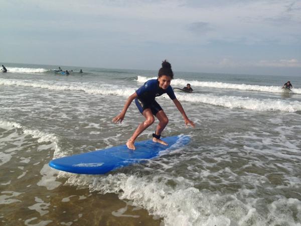 Colonie de vacances, séjours vacances, enfants, oul, les Sables d'Olonne, surf 4, été 2017