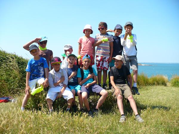 Colonie de vacances, séjours vacances, enfants, oul, Penestin : plage, été 2017