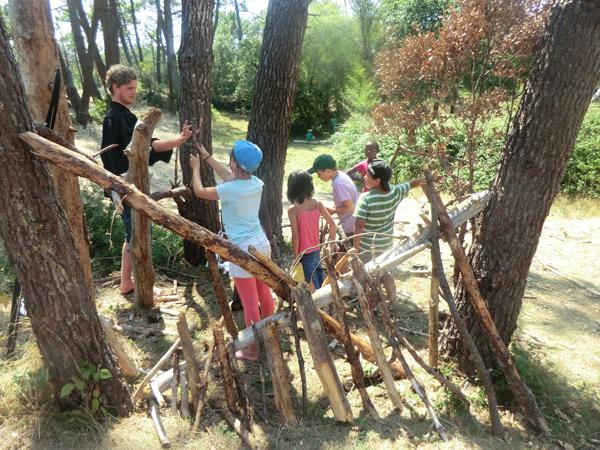 Colonie de vacances, séjours vacances, enfants, oul, St Jean de Monts, grands jeux, été 2017