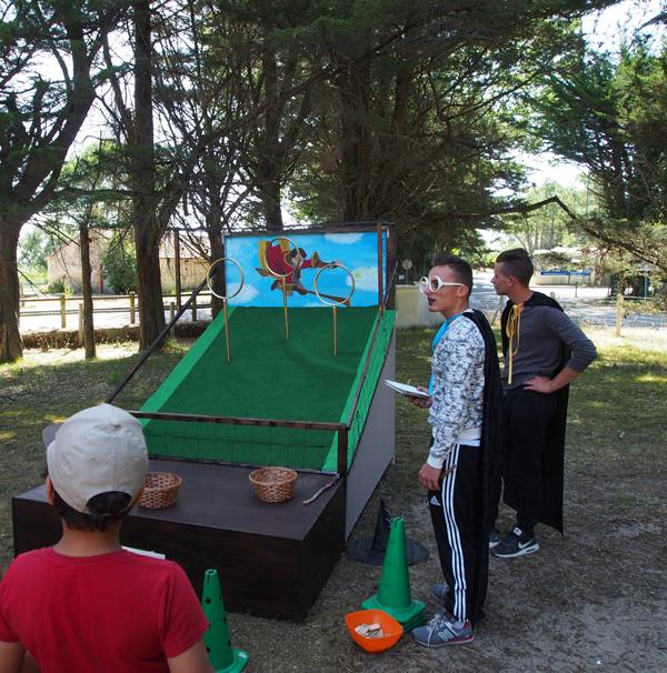 Colonie de vacances, séjours vacances, enfants, oul, St Jean de Monts, jeux, été 2017